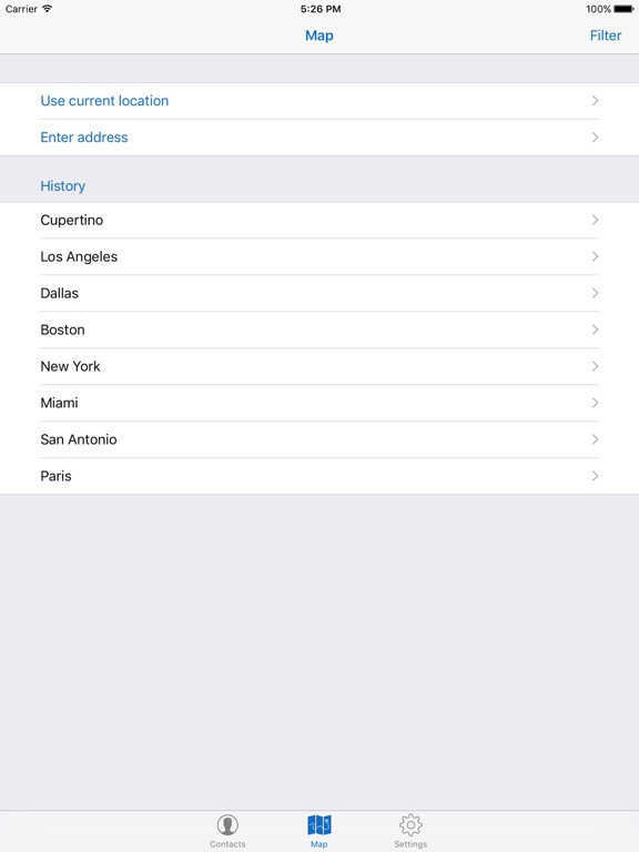 Map For Contacts Screenshots