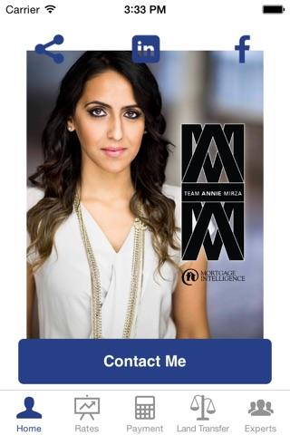 Annie Mirza Mortgage App screenshot 1
