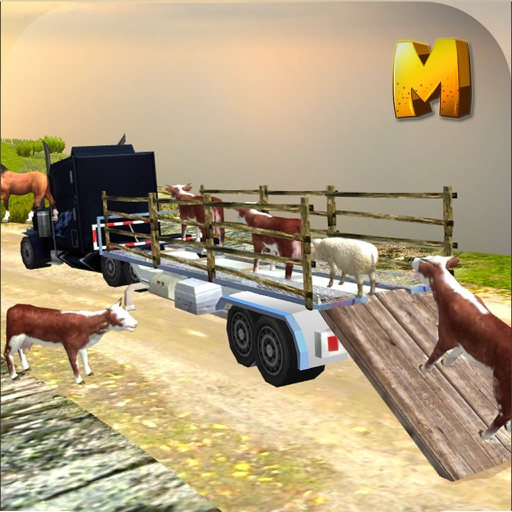 Offroad Animal Transport Truck Simulator 3D iOS App
