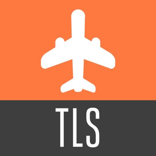 Toulouse Guide de Voyage avec Carte Offline