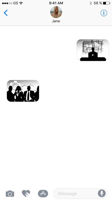 Компания стикеровСкриншоты 3