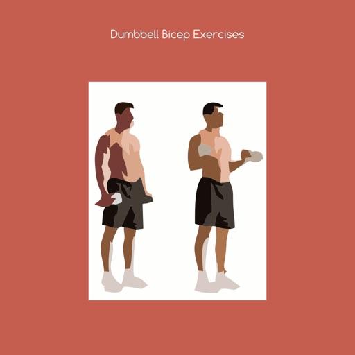 Dumbbell bicep exercises iOS App
