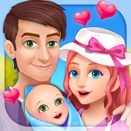 New Baby Story - Girls Games iOS App
