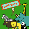 download 宝宝英语认动物-abc亲子口语早教游戏