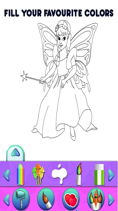 Angel Kids Coloring Book Pro On The App Store