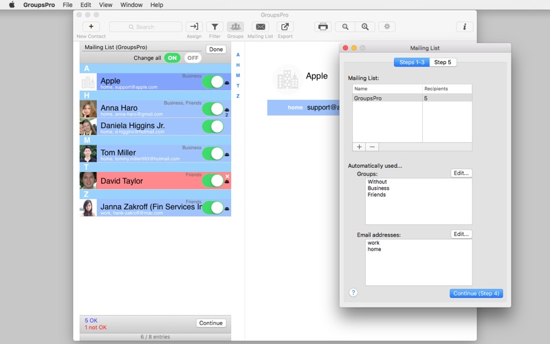 GroupsPro Screenshots