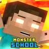 Monster School & Herobrine Skins For Minecraft PE