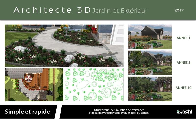Architecte 3d jardin et ext rieur 2017 par avanquest north for Architecte 3d ipad