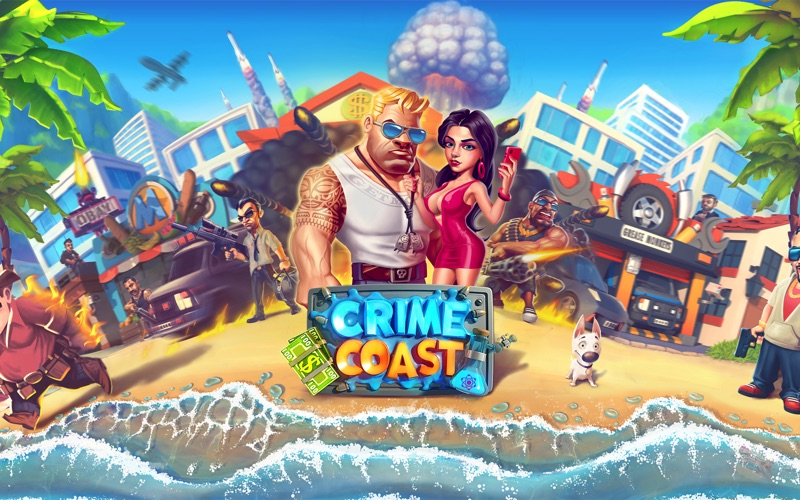 Crime Coast - Mob versus Mafia Screenshot