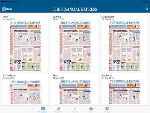 The Financial Express screenshot 3
