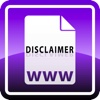 Disclaimer Maker html counter code