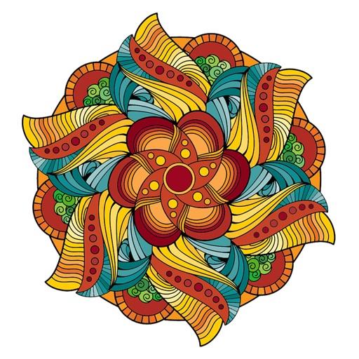 Magische Mandala Kleurplaten Voor Volwassenen Door Peaksel Doo
