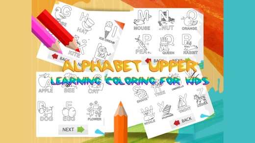 abcya abc upper alphabet coloring pages for girls on the App Store