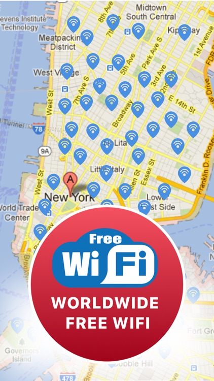 Wifi Map By Free Wifi Password By Black Software LLC - Wifi map software