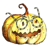 Pumpkin - Frog - Worm! Watercolor Stickers Wiki