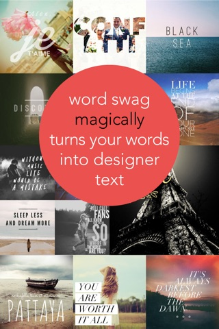 Word Swag - Cool fonts & typography generator screenshot 1