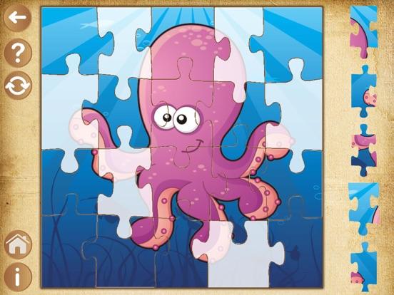 Animales juegos puzzles para ni os peque os 2 a os por - Puzzles para ninos pequenos ...