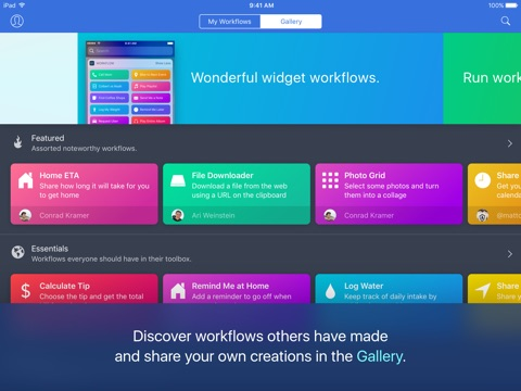 Workflow screenshot 3