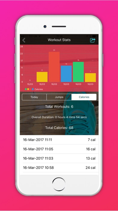 Jump: Weight Loss Workouts & Daily Calorie Tracker App ...