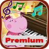 Hippo: Piano para niños. Premium