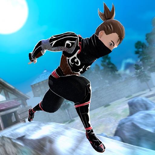 Ninja Creed Run PRO . The Assassin Night iOS App