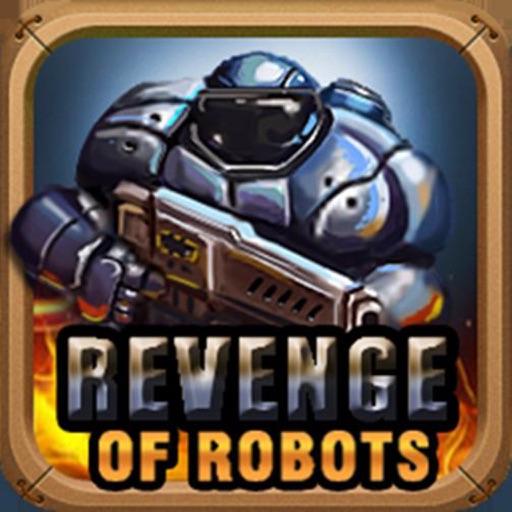 复仇机器人-史上最难街机动作塔防射击游戏