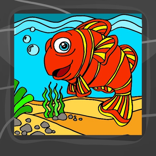 Underwater Coloring Book App iOS App