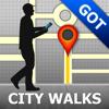Gothenburg Map and Walks, Full Version
