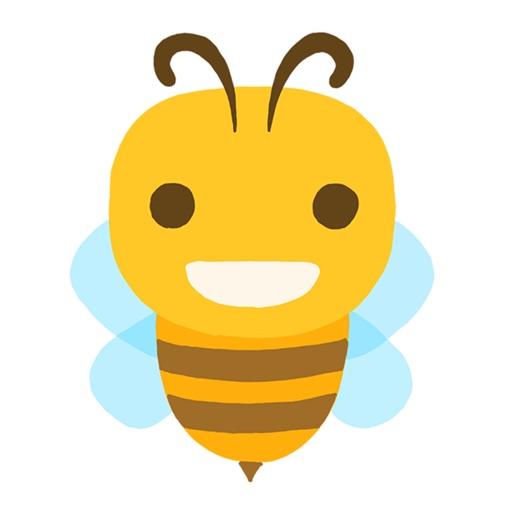 Bee-moji | Cute & Funny Bee Emoji Stickers