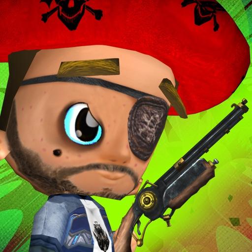 Pirate Kid Havoc Free: Fun Shooting Games For Kids iOS App