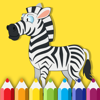 Coloring Book Game Zebra Free For Childrens Wiki
