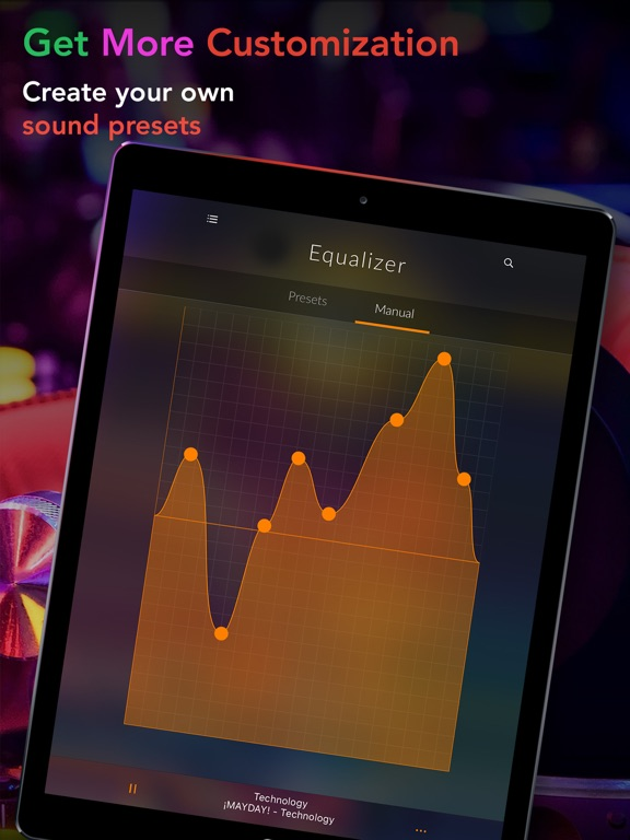 Screenshot #5 for Equalizer+ Pro Music Player and Volume Booster