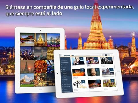 Bangkok Travel Guide & offline city map screenshot 1