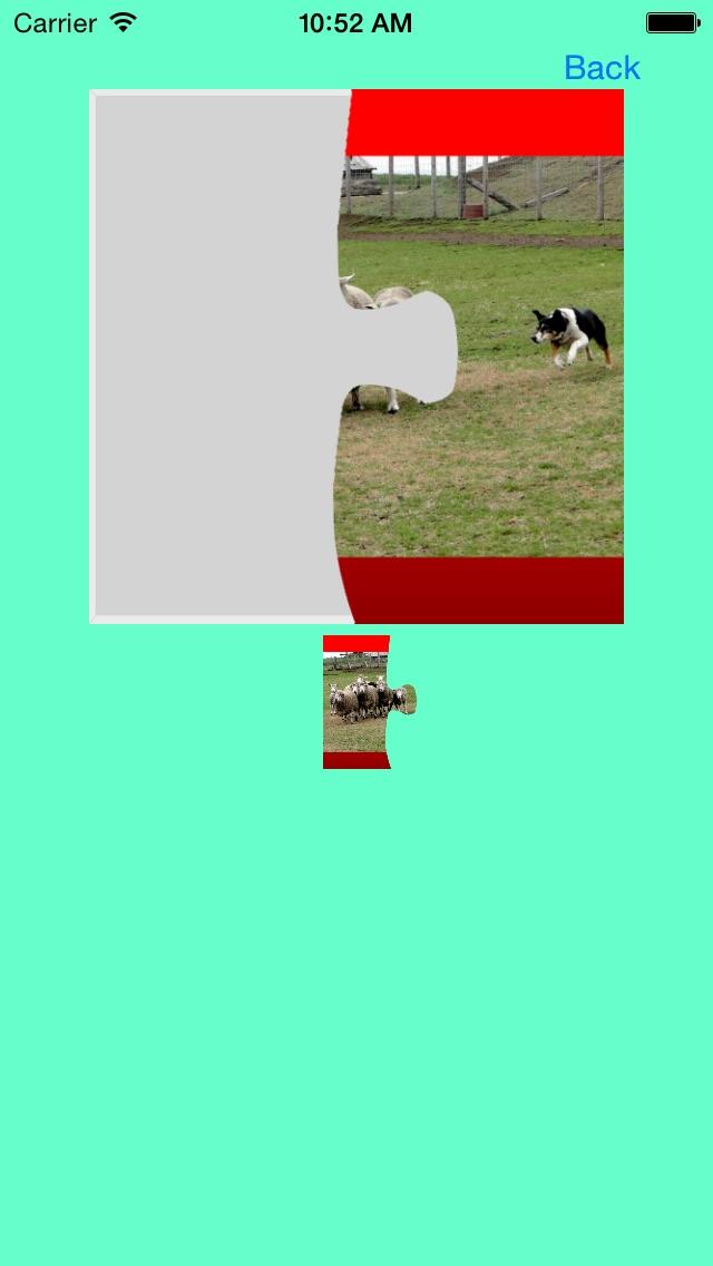 犬(イヌ,いぬ)のジグソーパズルのスクリーンショット4