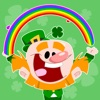 Luck of the Irish Animated Autocollants