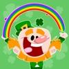 Luck of the Irish Animated Autocollants