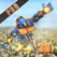 Flying Army Rescue Robot 3D Pro App Icon Artwork