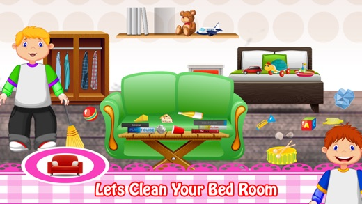 Kids House Cleaning Baby Home Care Party Game On The App Store