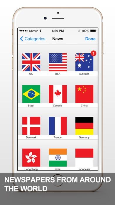 News App - RSS ReaderСкриншоты 4