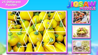 Screenshot #5 for Fruits & Vegetables Jigsaw Puzzle - Fun With Foods