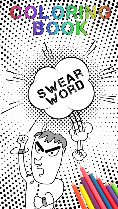 Swear Word Coloring Book For Adults Anti Stress On The App Store