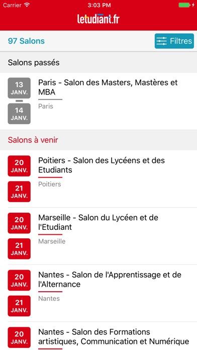 download Salons de l'Etudiant: orientation, études, métiers apps 1