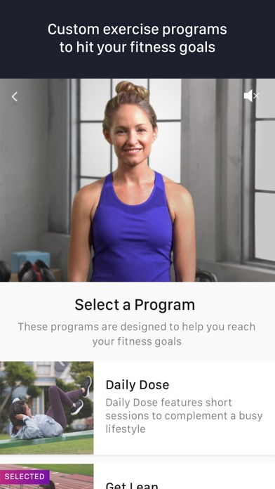 Fitstar Personal Trainer Screenshot