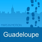 Guadeloupe OffLine : Maps in motion