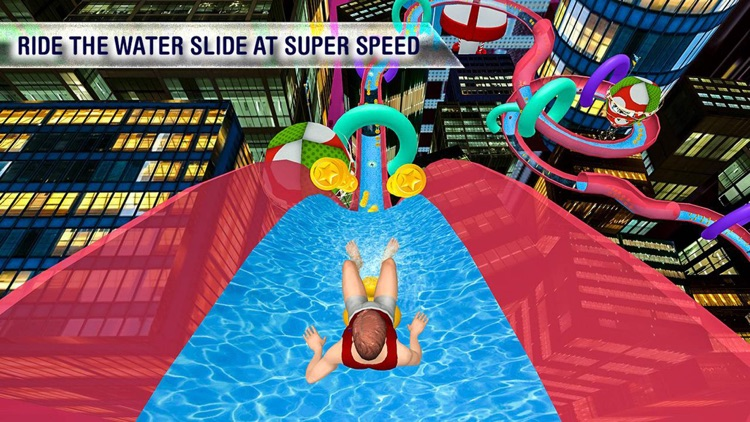water slide adventure - best games for iPhone by Ahmed Malik