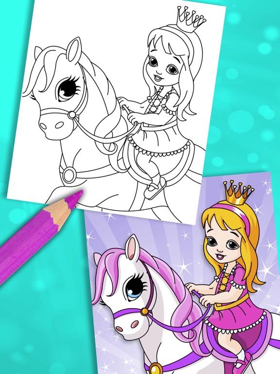 Princesa para colorir para crianças - Pro Por Valenapps Sociedad ...