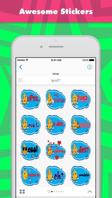 Screenshot of Sticker Igra27 di ismar1