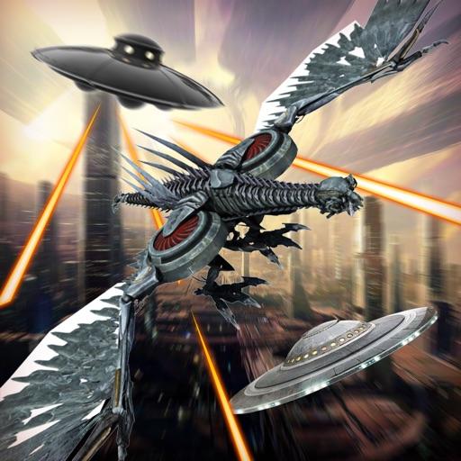 Fly Robots 3D PRO iOS App