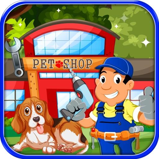 Pet Shop Repair – Repairing & cleaning mission