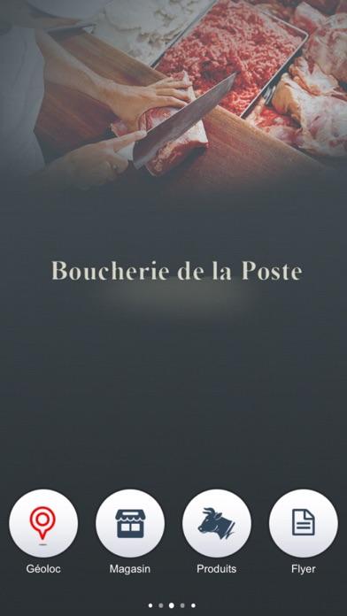 Boucherie de la PosteCapture d'écran de 1